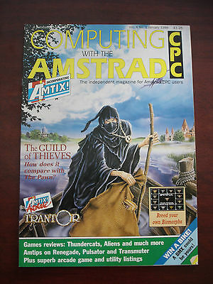 Job lot of Computing with the Amstrad magazines 1988/Revistas Amstrad CPC