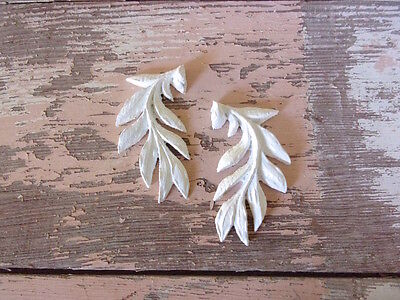 Shabby & Chic Furniture Appliques * Architectural Onlays  (2 Pc ) * Flexible