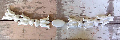 SHABBY n CHIC FURNITURE APPLIQUES * ARCHITECTURAL SIDES w/ CENTER * PAINTABLE