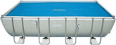 Intex 29026E- 9ft x18ft Solar Pool Cover fits Easy Set and Frame  Heat Water Hot