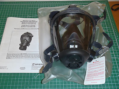 Sperian by Honeywell 759000 OPTI-FIT CBRN Gas Mask, Small Open Box !43A!