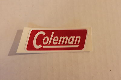 Lot (2) Plain Coleman Canada Replacement Paper Lantern Decal 1950's