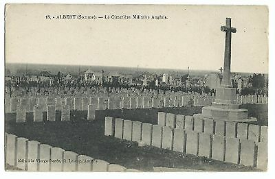 Albert, Somme, English Military Cemetery PPC, Unposted, Post WW1 by Lelong