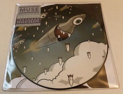 "Muse - Reapers     LIMITED 7"" PICTURE DISC"