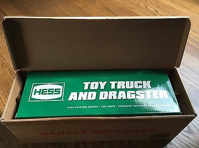 2016 Hess Toy Truck & Dragster Brand New - Free Shipping