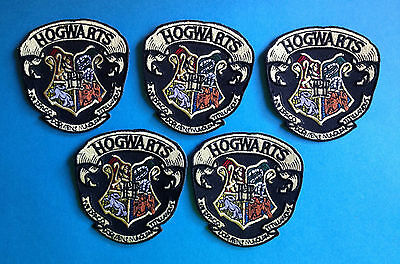 5 Lot Harry Potter Hogwarts School Scarf Hat Jacket Hoodie Backpack Patches