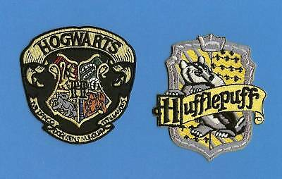 2 Lot Harry Potter Hogwarts Hufflepuff Scarf Patches Haloween Costume