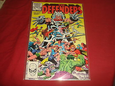 THE DEFENDERS #113  Bronze Age  Marvel Comics 1982 VF/NM