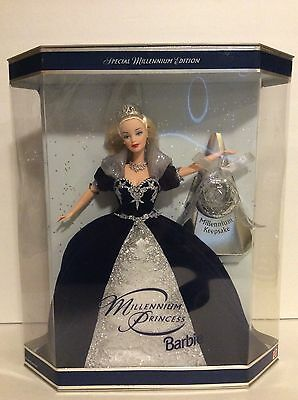 NEW! Vintage 1999 Mattel Special Edition Millenium Princess Barbie Doll! NICE!