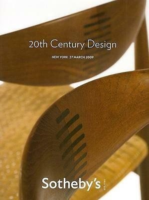 Sotheby's /// 20th Century Design Deco Nouveau Auction Catalog March 2009
