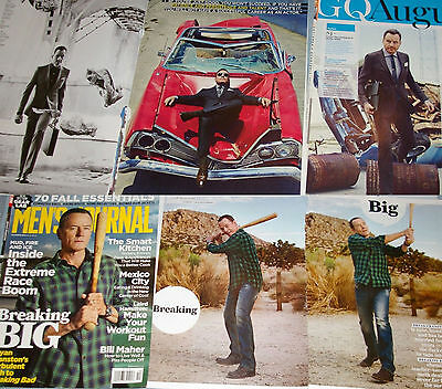 BRYAN CRANSTON 172x Clippings Covers Breaking Bad+