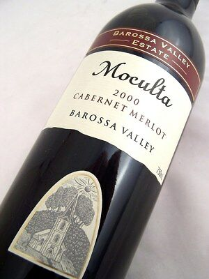 2000 BAROSSA VALLEY ESTATE Moculta Cabernet Merlot Isle of Wine