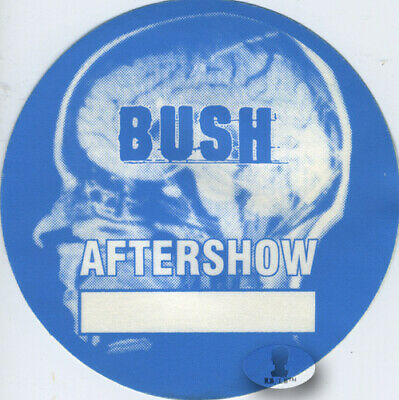 BUSH 2000 SCIENCE OF THINGS Backstage Pass ASO blue
