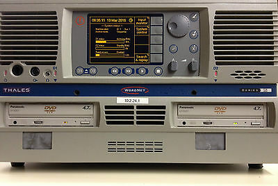 Racal/Thales WordNET 128 Series 2 Multichannel Voice Recorder