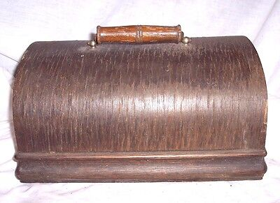 Edison Standard Phonograph Lid And Handle , Needs Tlc
