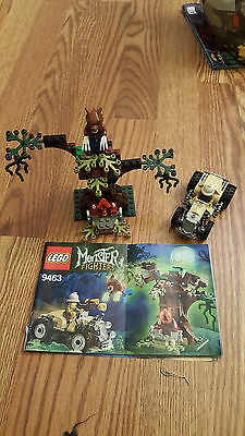 LEGO Monster Fighters the Werewolf 9463 set LOOSE w Instructions