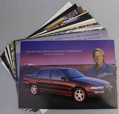 Holden Mid Late 90's Car Flyers Pack Commodore Caprice Statesman Calais Jackaroo