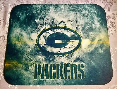 GREEN BAY PACKERS NFL Custom Pictorial Anti Slip Ultra Thin PC Gamer Mouse Pads