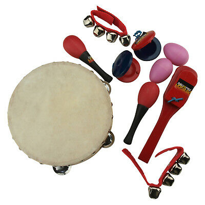 New Drumfire 6-Piece Hand Percussion Set