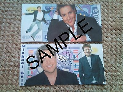 Michael Ball 1 Million  Euro Bank Note Novelty Millionaire Banknote
