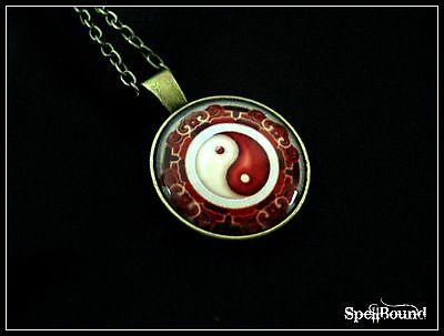 SPELL-INFUSED Yin-Yang NECKLACE for EMOTIONAL BALANCE 99% Accurate TALISMAN