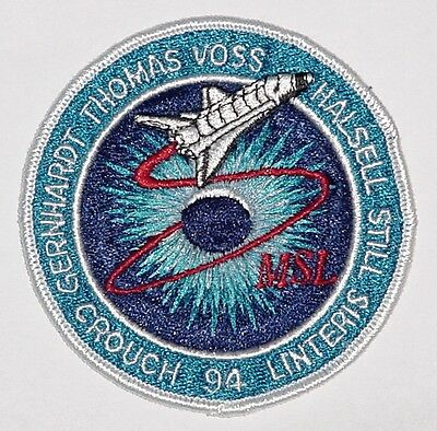 Aufnäher Patch Raumfahrt NASA STS-94 Space Shuttle Columbia .........A3191