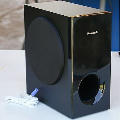 Panasonic Blu-Ray 3D DVD Home Cinema Stylish Subwoofer 200W 3 ohms +cable plug