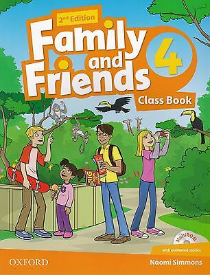 Oxford FAMILY AND FRIENDS Level 4 Class Book with multiROM SECOND EDITION  @NEW@