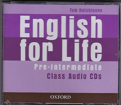 Oxford ENGLISH FOR LIFE PRE-INTERMEDIATE Class Audio CDs @NEW@