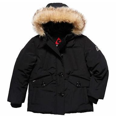 NEW Gerry Girl's Parka Jacket w/ Faux Fur Trim Hood