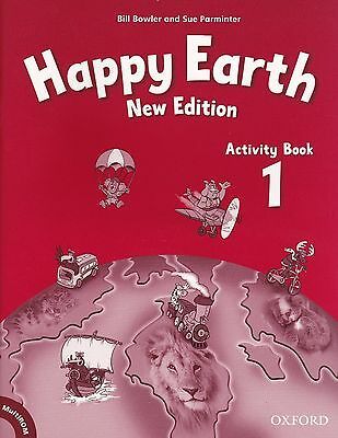 Oxford HAPPY EARTH 1 New Edition: Activity Book and MultiROM Pack @NEW@