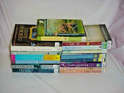Christian Romance (17) Free Shipping - Christian Novels Various Authors