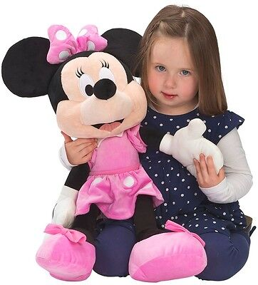 Minnie Mouse Large Cuddly Soft Toy 60cm Plush Pink Girls
