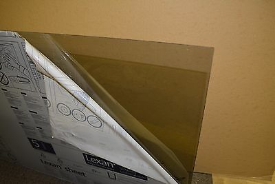"LEXAN SHEET  POLYCARBONATE  SOLAR GRAY  1/8"" x 48"" x 96"""