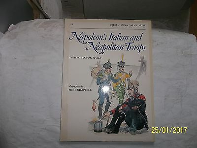Napoleon's Italian and Neapolitan Troops, Osprey, Men At Arms 88