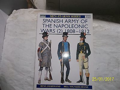 Spanish Army of the Napoleonic Wars (2) 1808-1812, Osprey, Men At Arms 332