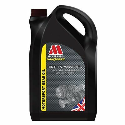 Millers Oils  CRX LS 75W90 Nanodrive NT+  Fully Synthetic Gear Oil  1Litre  7968