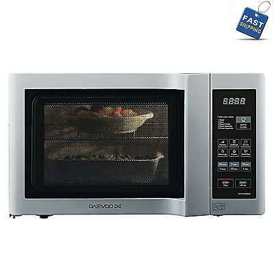 Silver Microwave Oven Daewoo KOR6L6BDSL Duoplate Touch Control 800W 20 Litre