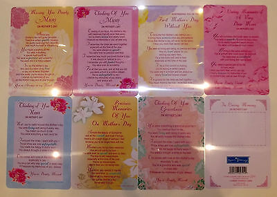 Mother's Day Memorial Graveside Cards First Mother's Day. MUm Nan Grandma