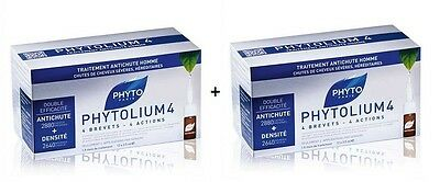 PHYTO Phytolium 4 24 x 3,5ml Thinning hair, Chronic & Severe - 2 LARGE BOXES