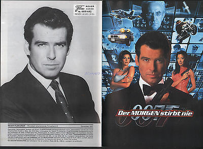 James Bond Tomorrow Never Dies German Film Program 1997 20 Pages