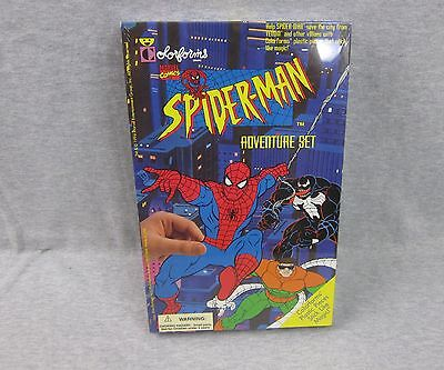 NEW Vintage Colorforms Spiderman Adventure Set Playset SEALED 1994 Marvel
