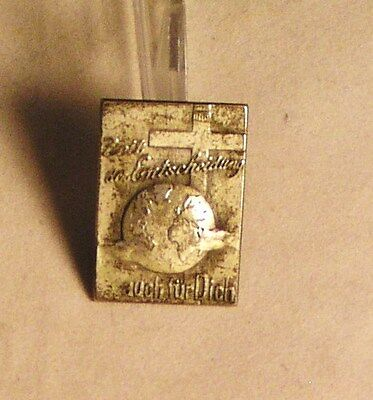 Salvation Army - PIN - UNIDENTIFIED FOREIGN PIN - POSSIBLY GERMAN -