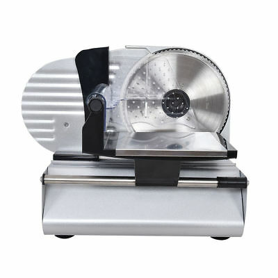 """Commercial Electric Stainless Steel Electric Deli Meat Cheese Slicer 7.5"""" Saw"""