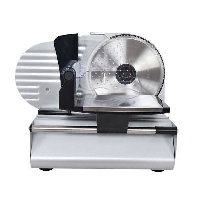 "Commercial Stainless Steel Electric Deli Meat Cheese Slicer 7.5"" Blade Machine"