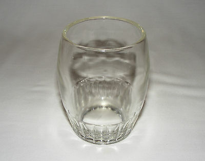 Antique Victorian Early American Pressed Glass Colonial Tumbler  Eapg