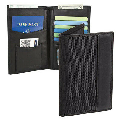 Travelon RFID Blocking Executive Wallet Organizer Passport & ID Travel Holder
