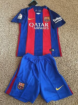 2016-17 FC Barcelona Home kit- Youth size 22