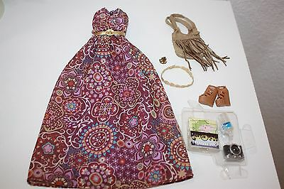 Barbie The Look Festival Boho Complete Fashion Outfit Fit Model Muse