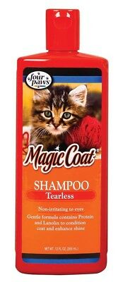 Four Paws Magic Coat Cat & Kitten Tearless Shampoo 12oz With Protein And Lanolin